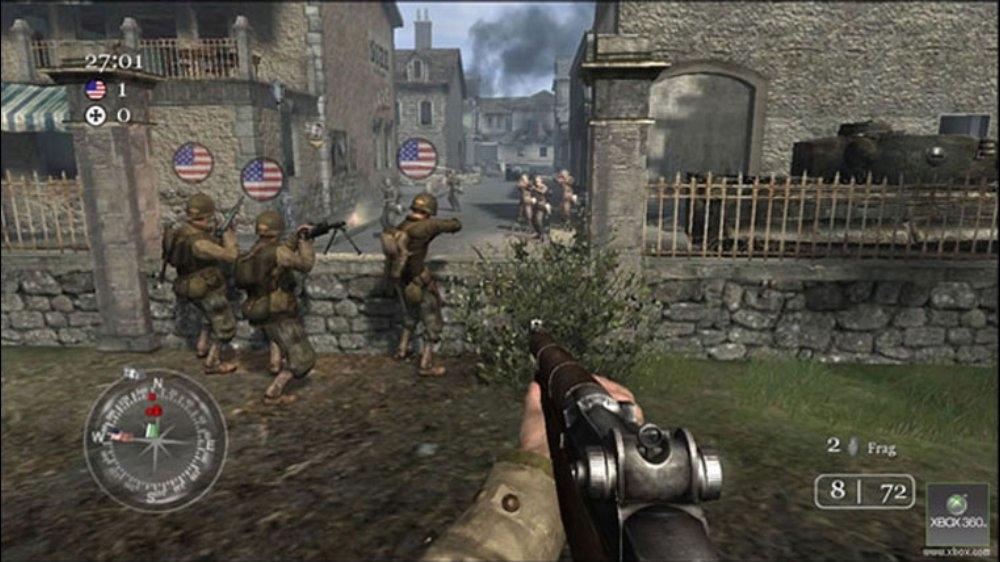 تحميل لعبة Call Of Duty 2 كول اوف ديوتي 2 على الكمبيوتر كاملة برابط سريع