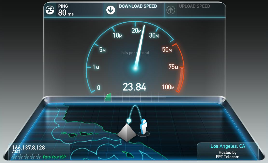 برنامج speedtest للكمبيوتر